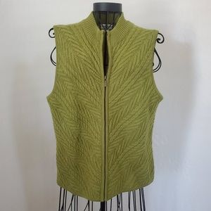 Coldwater Creek Wool Sweater Vest